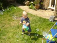 Luca and Bubbles