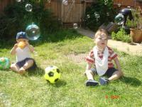 Max, Luca and the bubbles